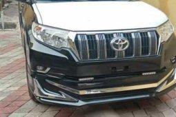 Foreign Used Toyota Land Cruiser Prado 2018 Model Black