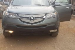 Foreign Used Acura MDX 2007 Model Gray