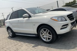 Foreign Used Mercedes-Benz ML350 2012 Model White