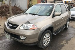 Nigeria Used Acura MDX 2003 Model Gold