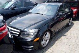 Tokunbo Mercedes-Benz C300 2013 Model Black