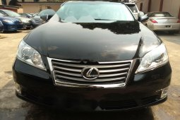 Foreign Used 2010 Black Lexus ES for sale in Lagos