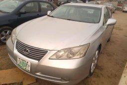 Nigeria Used Lexus ES 2007 Model Silver