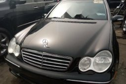 Foreign Used Mercedes-Benz C230 2006 Model Black