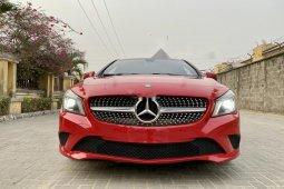 Nigeria Used Mercedes-Benz CLA-Class 2014 Model Red