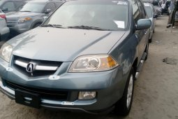 Foreign Used 2006 Blue Acura MDX for sale in Lagos