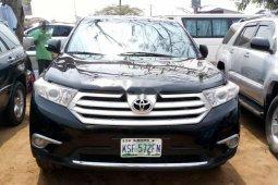 Nigeria Used Toyota Highlander 2012 Model Black