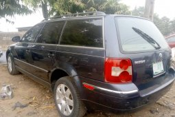 Nigeria Used Volkswagen Passat 2005 Model Gray