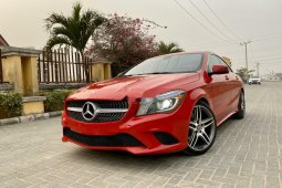 Tokunbo Mercedes-Benz CLA-Class 2014 Model Red