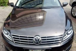 Nigeria Used Volkswagen CC 2014 Model Brown