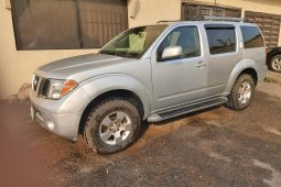 Nigeria Used Nissan Pathfinder 2005 Model Silver