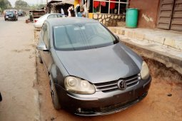 Foreign Used Volkswagen Golf 2006 Model Gray