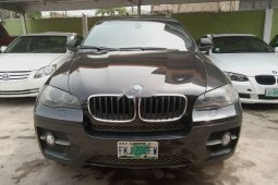 Nigeria Used BMW X6 2009 Model Black