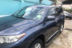 Nigerian Used 2012 Model Toyota Highlander Automatic