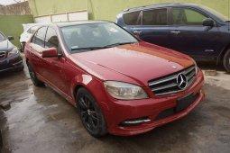 Nigeria Used Mercedes-Benz C300 2008 Model Red