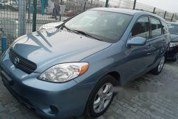Foreign Used Toyota Matrix 2007 Model Blue