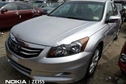 Foreign Used 2009 Silver Honda Accord for sale in Lagos Grey/Silver