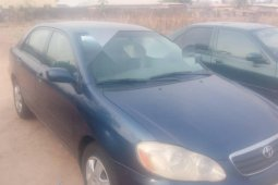Foreign Used Toyota Corolla 2005 Model Blue