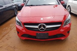 Foreign Used Mercedes-Benz CLA-Class 2015 Model Red