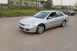 Foreign Used Honda Accord 2007 Model Silver