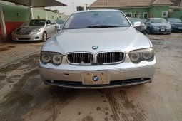 Nigeria Used BMW 7 Series 2005 Model Black