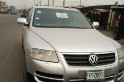 Nigeria Used Volkswagen Touareg 2004 Model Silver
