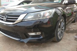 Nigeria Used Honda Accord 2015 Model Black