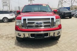 Foreign Used Ford F-150 2010 Model Red