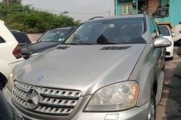 Nigeria Used Mercedes-Benz ML 500 2008 Model Gold