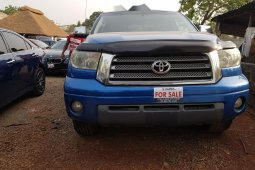 Tokunbo Toyota Tundra 2007 Model Blue