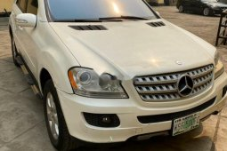 Nigeria Used Mercedes-Benz ML350 2007 Model White