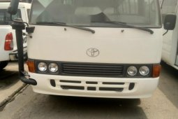 Foreign Used Toyota Coaster 2009 Model White