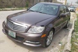 Nigeria Used Mercedes-Benz C300 2014 Model Gray