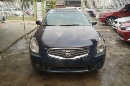 Nigeria Used Nissan Maxima 2008 Model Blue