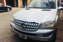 Nigeria Used Mercedes-Benz ML 500 2006 Model Silver