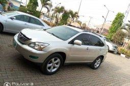 Nigeria Used Lexus RX 2006 Model Gold