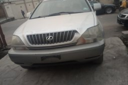 Foreign Used Lexus RX 2000 Model Silver