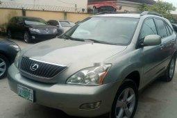 Nigeria Used Lexus RX 2007 Model Silver