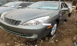 Foreign Used Lexus ES 2006 Model Green