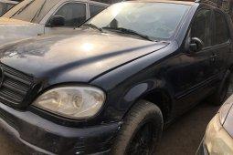 Nigeria Used Mercedes-Benz ML 500 2002 Model Black