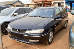 Foreign Used Peugeot 406 2000 Model Blue