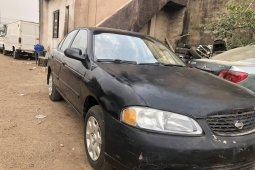 Nigeria Used Nissan Sentra 2002 Model Black