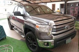 Nigeria Used Toyota Tundra 2014 Model Gray
