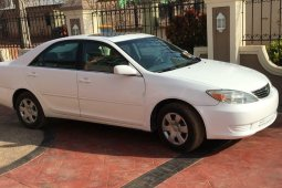 Foreign Used Toyota Camry 2006 Model White