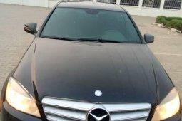 Nigeria Used Mercedes-Benz C300 2010 Model Black