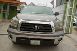 Nigeria Used Toyota Tundra 2007 Model Gray