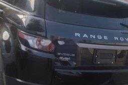 Tokunbo Land Rover Range Rover Evoque 2015 Model Black