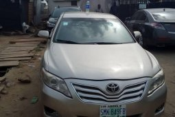 Nigeria Used Toyota Camry 2008 Model Beige