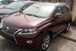 Foreign Used Lexus RX 2013 Model for Sale