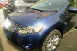 Nigeria Used Nissan Murano 2007 Model Blue